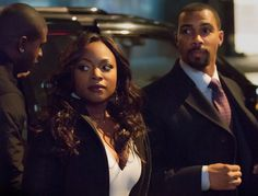 """Naturi Naughton and Omari Hardwick play James """"Ghost"""" St. Patrick and Tasha St. Patrick in the the Curtis """"50 Cent"""" Jackson-produced crime drama Power, set to premiere on Starz this summer."""