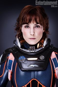 from Prometheus.  Noomi Rapace is an amazing actor.