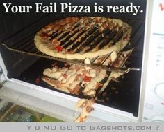 Your pizza is ready!