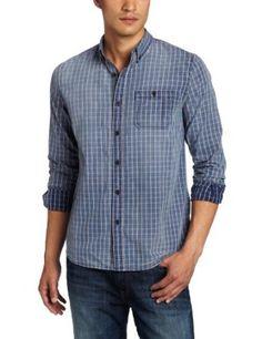 Joe's Jeans Men's Relaxed Single Pocket Plaid Shirt --- http://www.pinterest.com.mnn.co/323