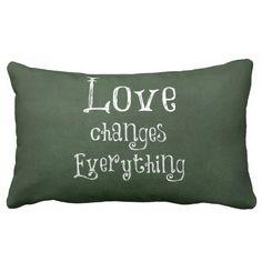 Customize Product Pillow #love