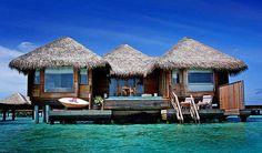 Beach Cottages, The Maldives Islands