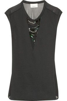 3.1 Phillip Lim top, $75  (more from the Net-a-Porter clearance sale -- http://chicityfashion.com/net-a-porter-sale-clearance/)