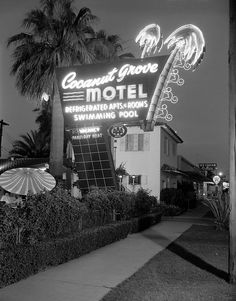 Coconut Grove Motel - Vintage Phoenix, AZ
