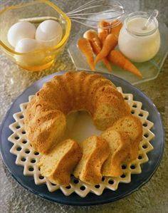Light carrot cake recipe - receta de queque de zanahoria light