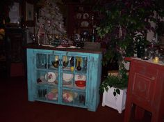 Made this Rustic Primitive Credenza, out of to old windows, Makes a great flat screen TV cabinet too.