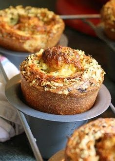 Parmesan, Herb, and Garlic Popovers