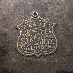 Stranger & Stranger Brand Tag | Flickr - Photo Sharing!