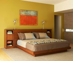I like everything about this bed! And the picture above it. ;)