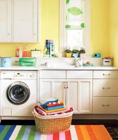 Quick and easy #laundry room repairs to help improve the way you clean your clothes