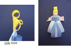 cute idea for girl Disney pages