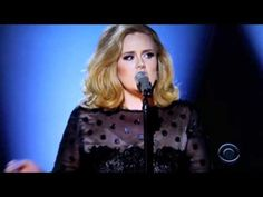 ADELE ~ Rolling In The Deep 2012 Grammy Performance...WOW.