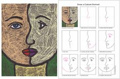 Art Projects for Kids: How to Draw a Cubism Portrait