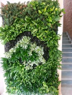 G-O2 Living Wall Goes Spiral