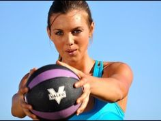 25 Minute Medicine Ball  Step total body workout with voice over