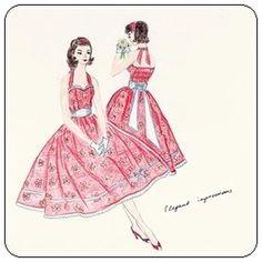 50's dress pattern