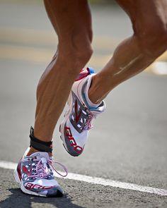 Chrissie Wellington's legs... 2011 IRONMAN Champion