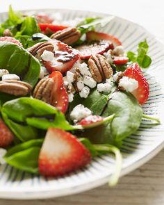 Sweet Paul's Strawberry Balsamic & Goat Cheese Salad - celebrate Summer!