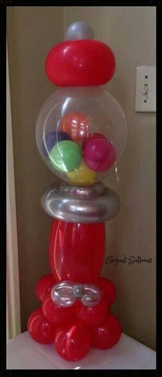 Mm dejj on pinterest for Balloon decoration machine