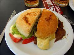 CHURRASCO SANDWICH | CHILEAN RECIPES