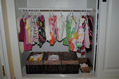 at home, closets, young children, toddler closet, babi