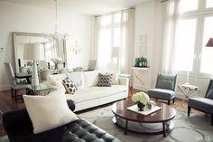 mirror, decor, interior design, coffee tables, living rooms