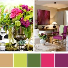 Pretty colour combinations from favourite pins