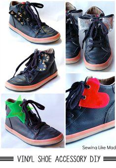 Vinyl Shoe Accessories DIY
