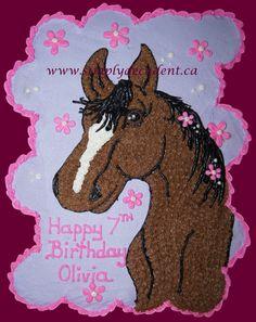 Cupcake+Cakes+-+Horse+Cupcake+Cake