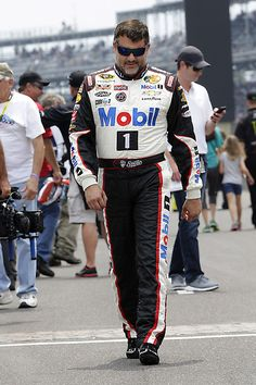 PHOTOS: Tony Stewart makes his way down pit lane before the start of the Brickyard 400 at Indianapolis Motor Speedway. View more photos from Indy here: http://www.stewarthaasracing.com/media/gallery/index.php