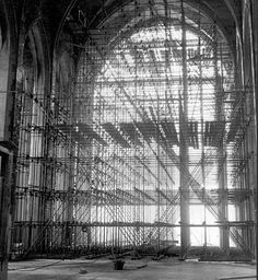 scaffolding is beautiful too