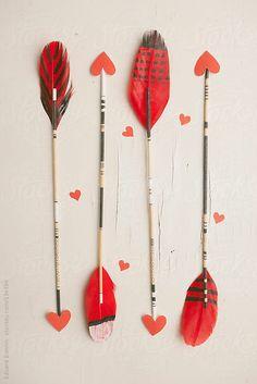 Arrow Valentine   10 Best DIY Valentines   Camille Styles