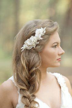 Le Flowers handcrafted bridal accessories #bridal #weddinghair