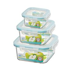 Glass like clarity and better durability - Serious containers for serious moms! :)
