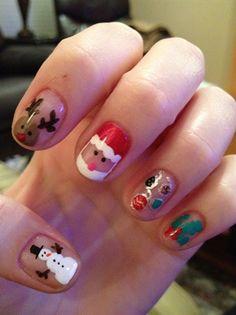 christmas - Nail Art Gallery by NAILS Magazine www.nailsmag.com