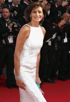 Ines de la Fressange - 'Mr. Turner' Premieres at Cannes — Part 2