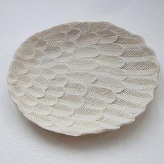 Lisa Stevens, unglazed porcelain