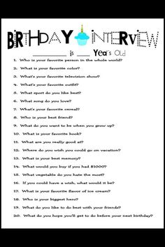 Birthday questionnaire. I like it but too many questions. I would whittle it down to 10 questions at the most. I just hope I would remember to do it every year!