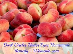 Homemade dark circle under eye natural recipe