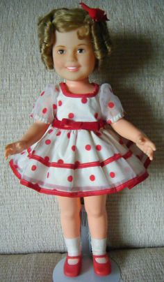 Shirley Temple 1972 - 1973 Stand Up and Cheer Doll. One of our new additions :)