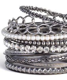 stacked bracelets, stack bracelet