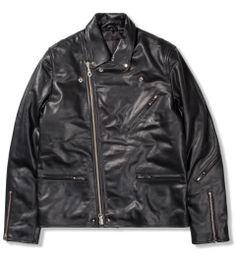 MKI BLACK Black Biker Jacket