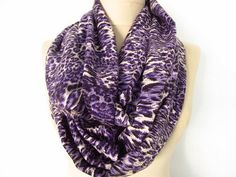 Purple scarf // Pashmina scarf // Infinity scarf // by asuhan, $19.00