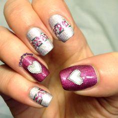 Flight Of Whimsy VALENTINE #nail #nails #nailart