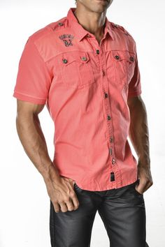 Camisa color coral