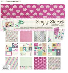 Hey Mom 12x12 Simple Set - a mini themed collection by Simple Stories   #simplestories  #simplesets