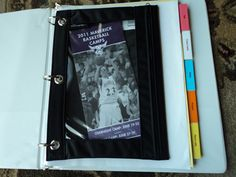 Stay organized with a household notebook + ideas on what to include #organization #mommysavers