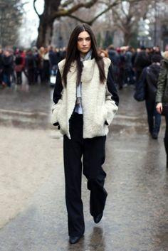 wooly coat
