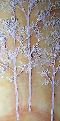 Plaster Art on Pinterest   Plaster, Plaster Crafts and Palette Knife ...