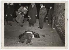 Weegee Crime scene